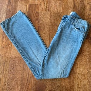 Paper Denim & Cloth Low Rise Boot Cut Jeans